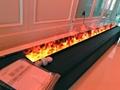 3D 不锈钢立体三维壁炉