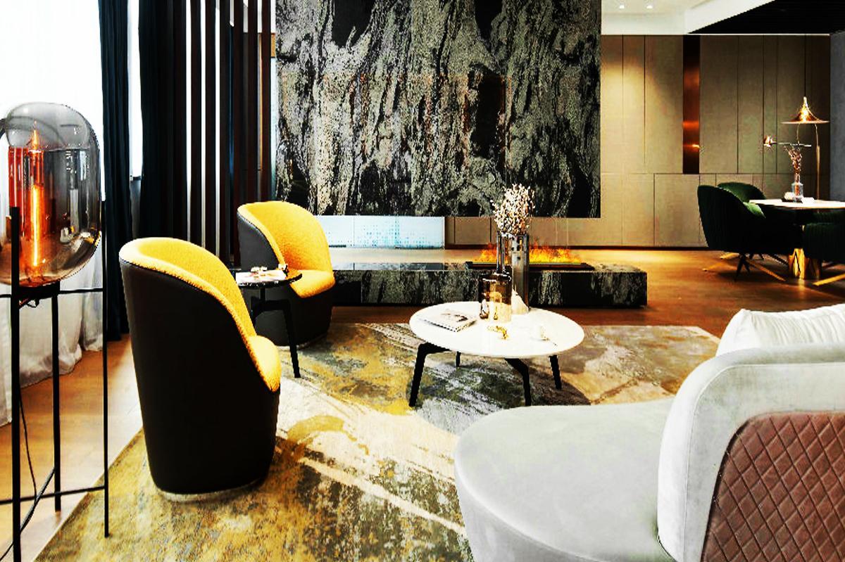 澳门氹仔四季酒店 壁炉案例 16