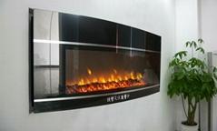 BG2系列挂墙式电壁炉