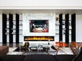 TH Wall Mounted and Inert 2 types fireplace Stock