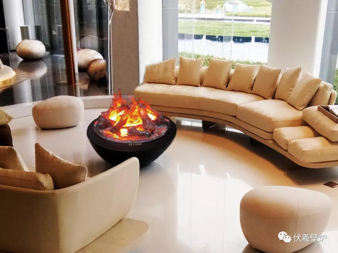 Outdoor 3D water vapour fireplaces Series 4