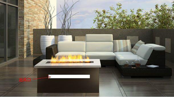 济南贝尔特酒店3D立体壁炉 16