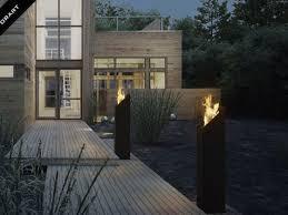 户外3D立体电壁炉