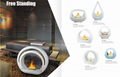 Stock Free Stand Bio-ethanol fireplaces