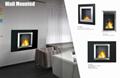 Stock wall mounted Bio Ethanol fireplace