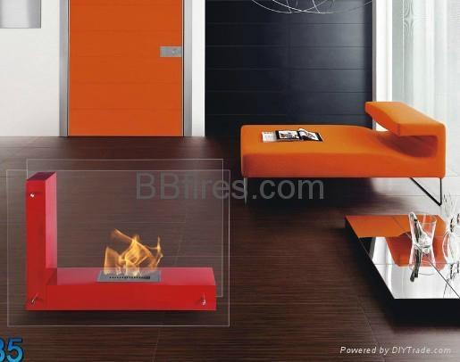 Bio ethanol manual fireplace 5