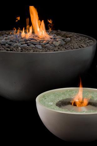 室外酒精火炬壁炉 15