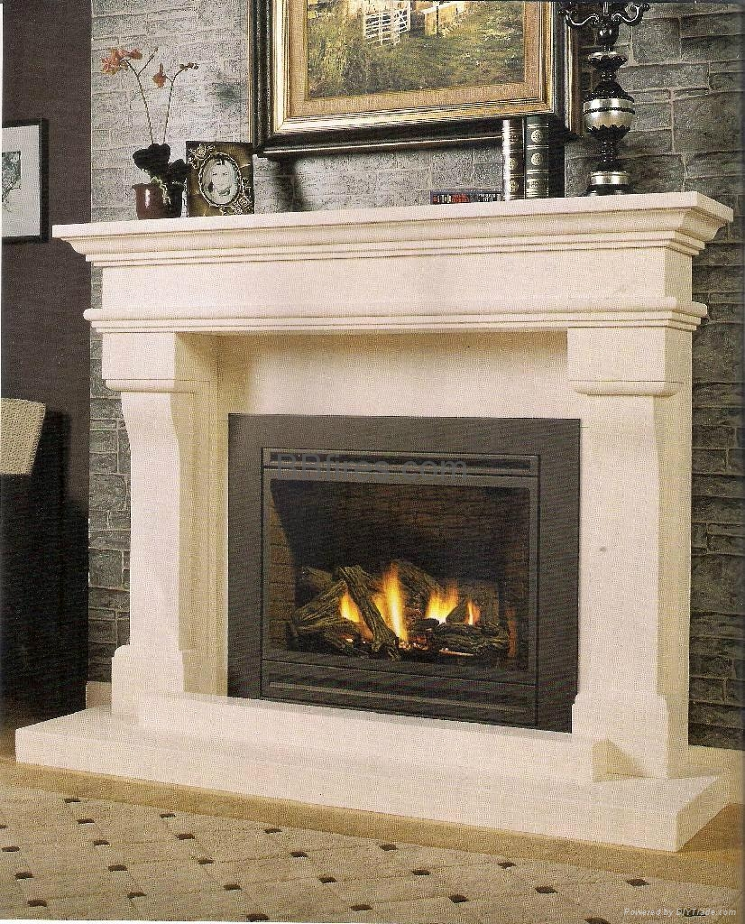 Product Image - Marble Fireplace Mantels - FP065CE - BB (Hong Kong Manufacturer