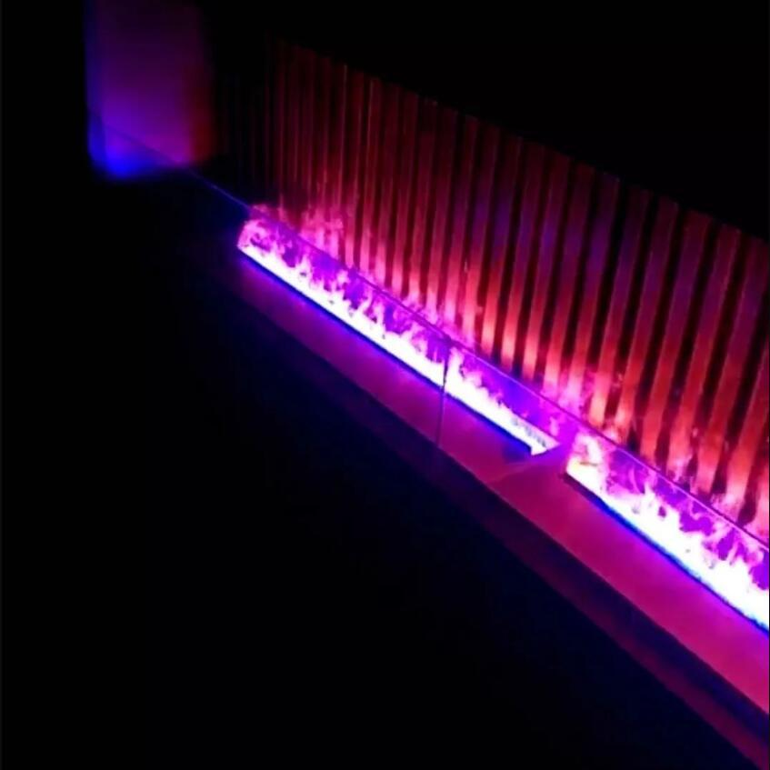 Different colour special water vapour electric 3D fireplace 2