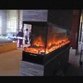 元朗 尔峦三面观火电子壁炉案例