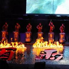 中国主题乐园内的BB 火炉