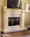 High Grade Marble Fireplace Set