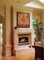 Marble Fireplace set combination