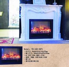 实木壁炉(炉+架)TH
