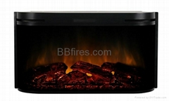 Embedded electric fireplace SF