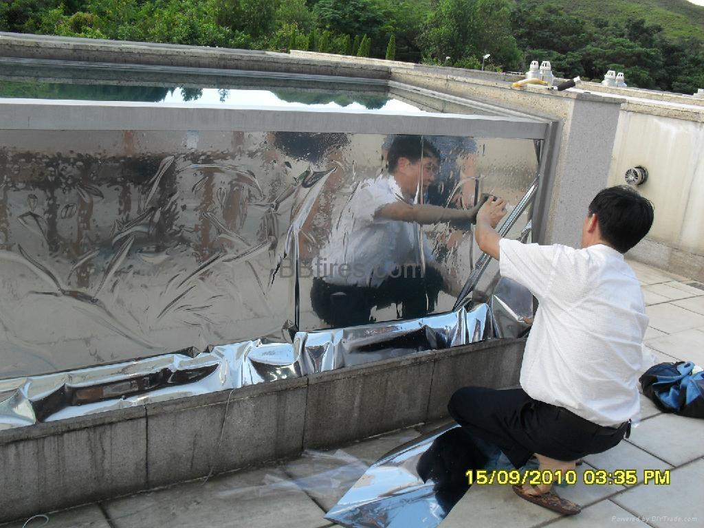 元朗葡萄園防UV隔熱膜工程