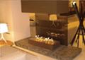 香港新世界发展郑生山顶别墅室内智能酒精壁炉 9