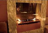 Intelligent Bio Ethanol fireplaces at BOC Bldg. 3