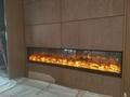 信和大嶼山長沙電子壁爐--兩面觀火案例 4