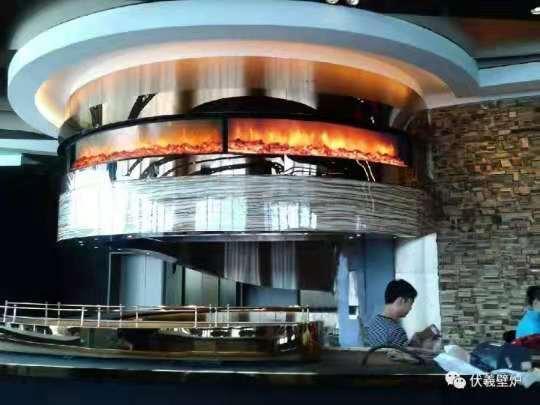 信和大嶼山長沙電子壁爐--兩面觀火案例 20