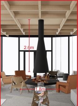 更多立体三维电子雾化壁炉案例 8