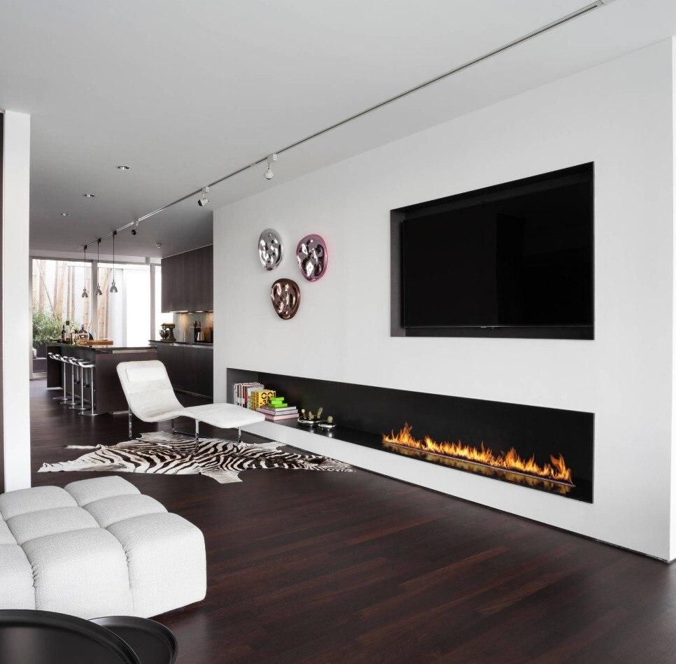 3D Bare finish water electric fireplace 20