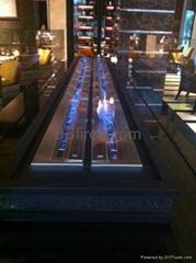 酒精壁爐(上海四季酒店工程)案例