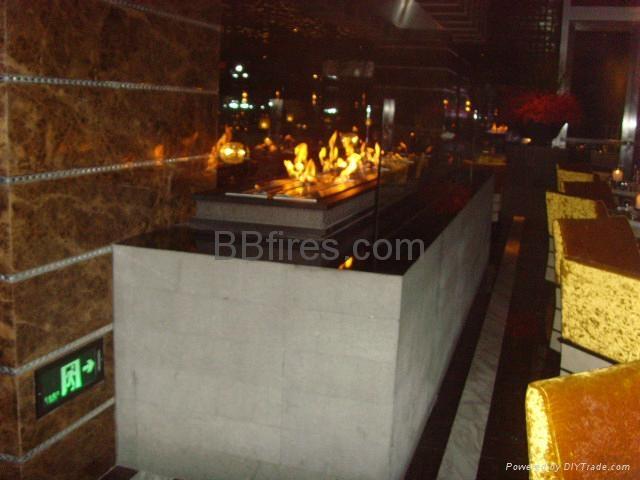 Four Season Hotel Shanghai Bio Ethanol fireplace  3
