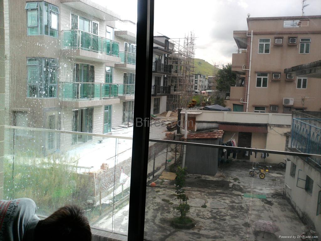 元朗大棠路水蕉新村防爆隔热膜 1