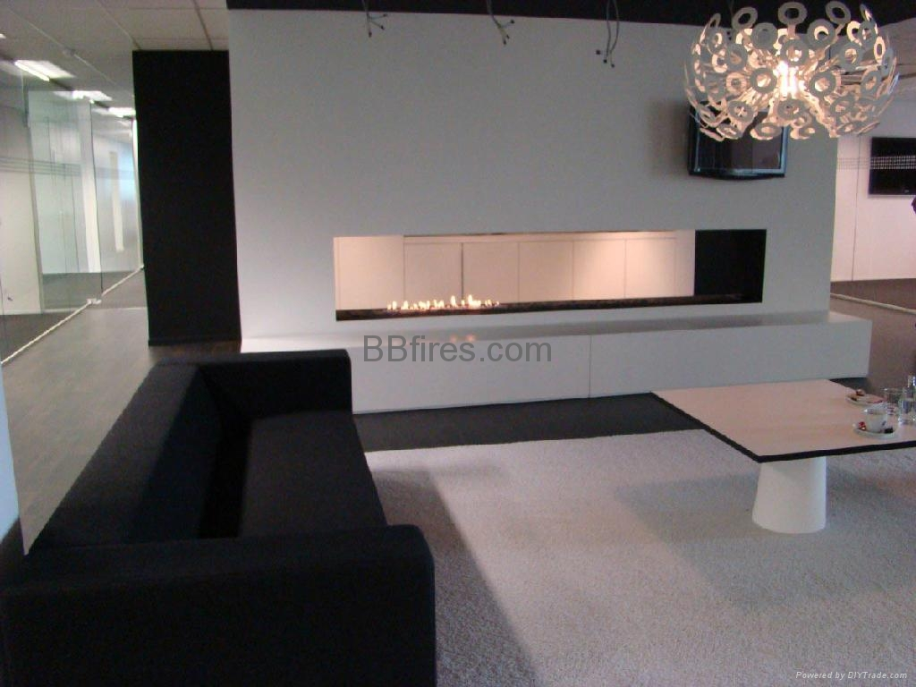 Bioethanol flueless fireplaces from germany ebios fire u - Decoracion de chimeneas ...