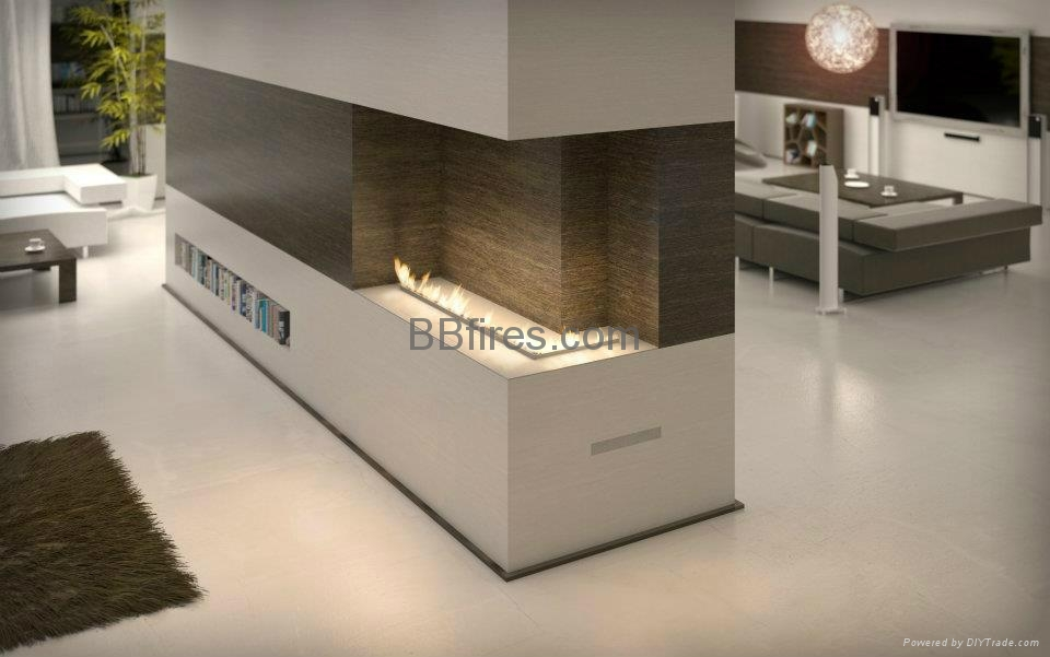Indoor bioethanol imtelligent low heat fireplaces