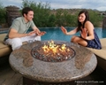 Outdoor alcohol intelligent firepot and
