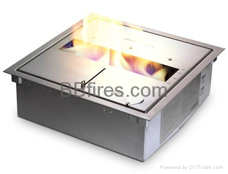 Manual bio burner