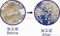 Quilted fabric waste & foam cutting machine 3