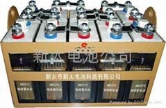 鐵路機車啟動鎳鎘碱性蓄電池