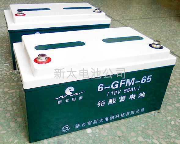 阀控式密封铅酸蓄电池 4