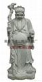 石雕福德正神佛像
