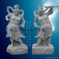Guan Gong statue, put a knife Guan Gong
