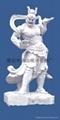 Guan Gong statue, put a knife Guan Gong,Guan Di, like