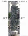 Panlong stone column