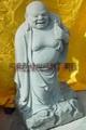 Eighteen stone Buddha carved bluestone