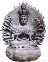 佛像石雕觀音千手觀音