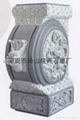 Bluestone stone pillow stone gate pier