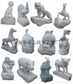 Zodiac granite animal carving