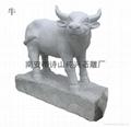 Zodiac granite carving stone horse