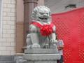 Granite stone lion carving large Beijing