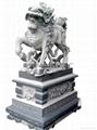 Evil unicorn stone town house Lucky Beast