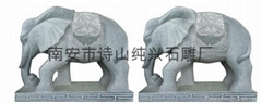 Bluestone stone handicrafts like animal sculptures