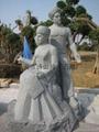 Bluestone stone sculpture Yao ethnic