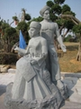 Bluestone stone sculpture Yao ethnic people Crafts